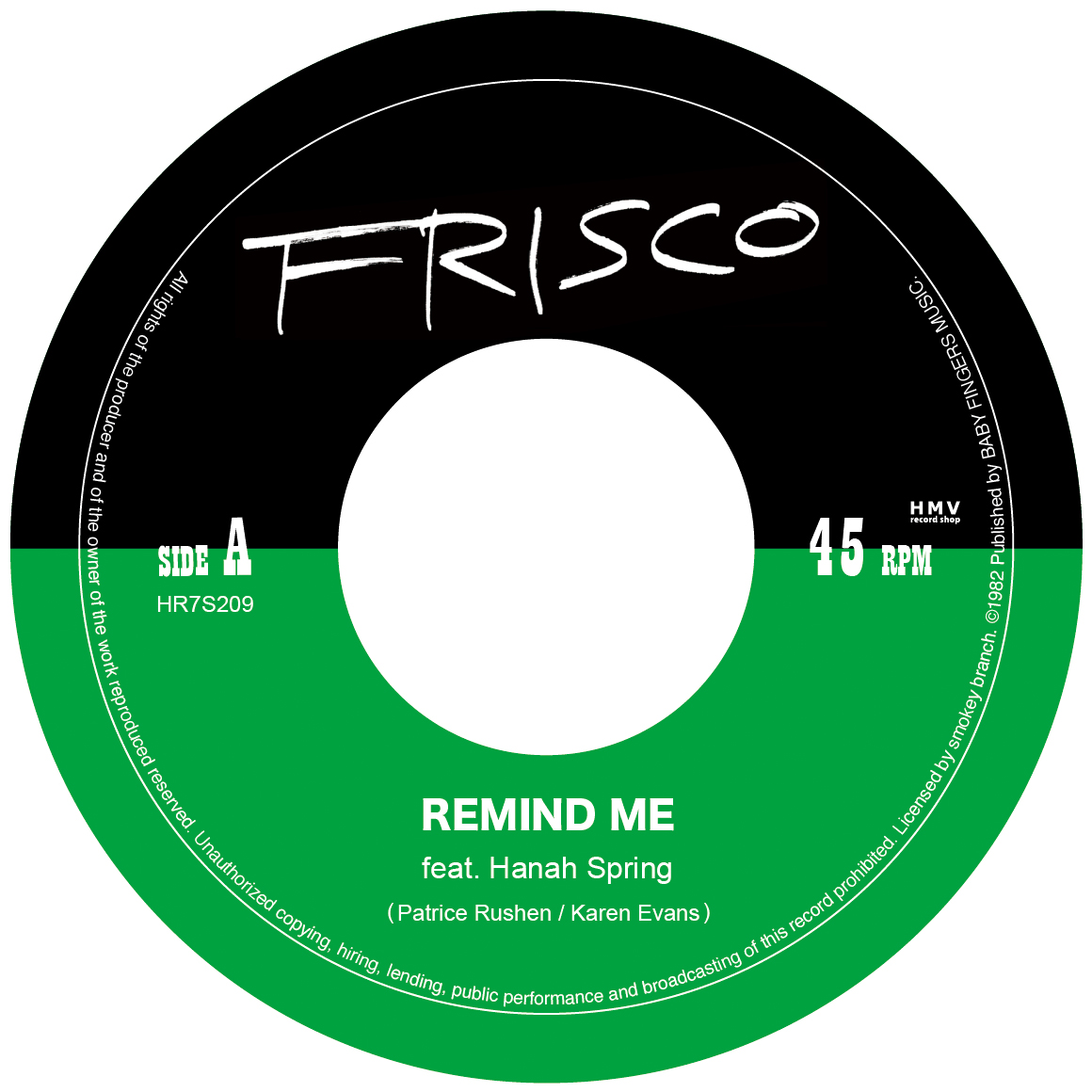 REMIND ME feat. Hanah Spring HR7S209